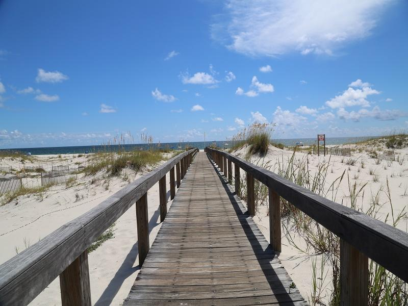 Walkway to beach - 2BR/2BA Gulf View Condo at Gulf Shores Plantation - Gulf Shores - rentals