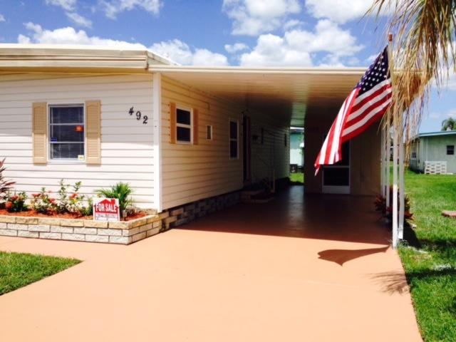 Exterior with Carport side entrance - GUEST HOUSE - Beaches or 5 Pools - Ellenton - rentals