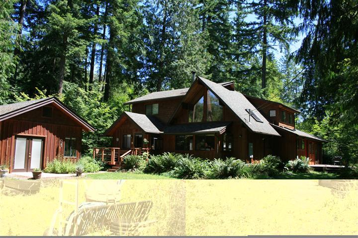 The Cedar Chalet at Mt Hood Oregon - The Cedar Chalet at the Base of Mt Hood - Rhododendron - rentals
