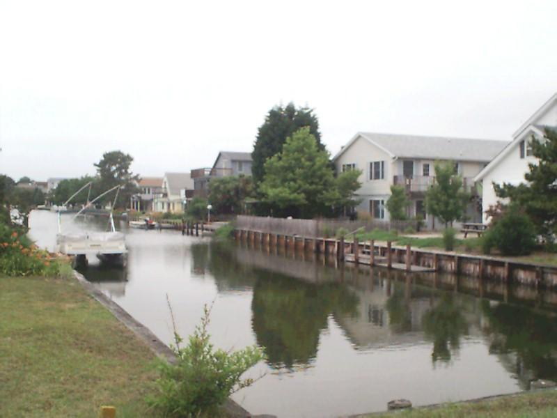 Back of house on canal - One Block to Beach Family or Group Retreat House - Bethany Beach - rentals