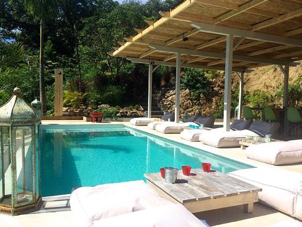 Terrace and pool of the Master lodge - Mystical Green - 'Romy' Bedroom - Santa Teresa - rentals