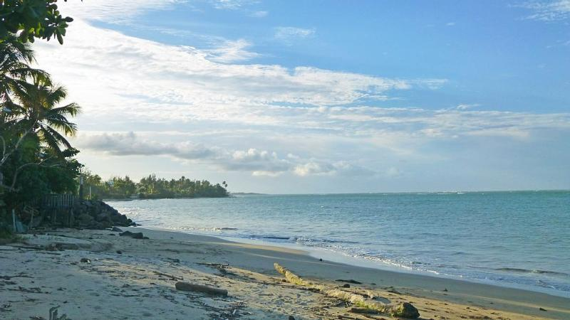 The beach is just 5 minutes walking from the unit. - Experience Tropical Paradise - Loiza - rentals