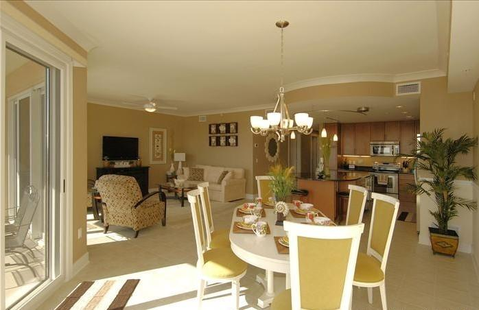 Dining Living and Kitchen - 3BR/3BA Luxury Beach Condo w/ Resort Amenities - Ocean City - rentals