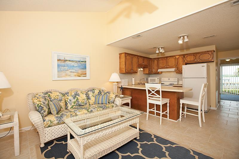 Living Room and Kitchen - Fall Getaways - Book Now!!!!! - North Topsail Beach - rentals