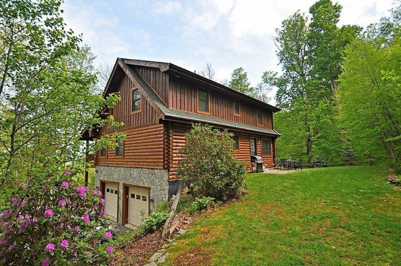 Large Log Cabin on App Ski Mtn - Image 1 - Blowing Rock - rentals
