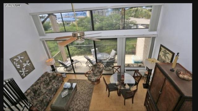 View from loft bedroom - Kihei Alii Kai #B404 Beautiful Full Ocean View - Kihei - rentals
