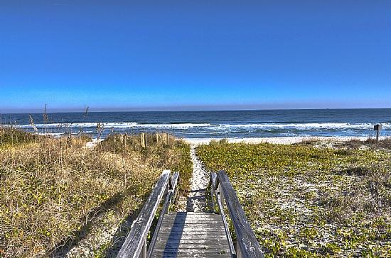YOUR BEACH AWAITS - Sunkissed Oceanfront House with Outside Steps - Carolina Beach - rentals