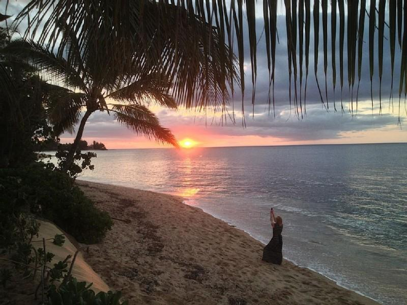 Beautiful sunsets! - Waialua Honu Hale (Turtle House) - Haleiwa - rentals