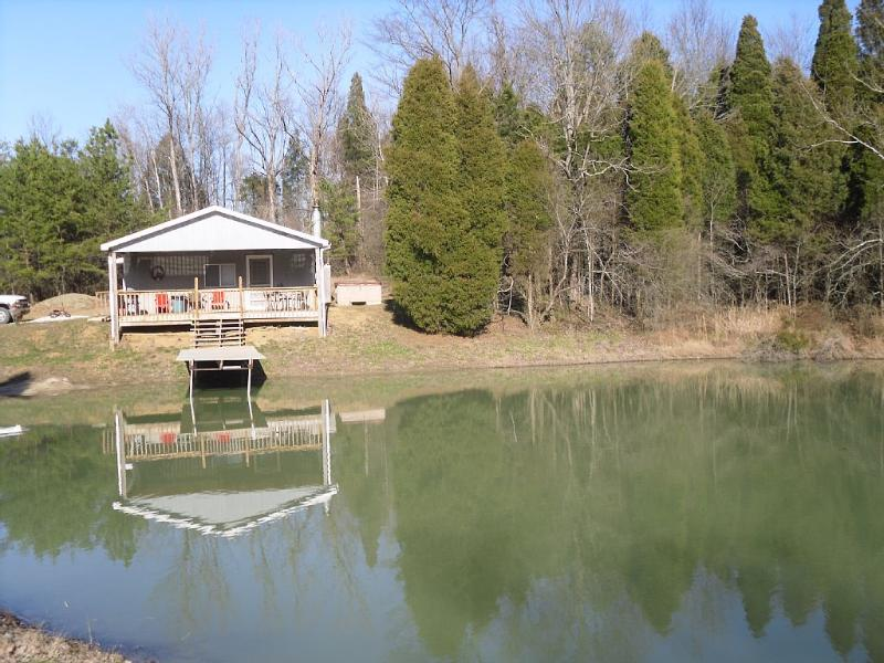 Whitetail Cabin-Located on 68 Private Acres - Image 1 - Derby - rentals