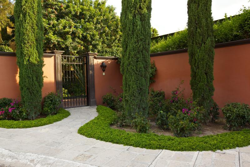 Front entrance - Gorgeous home on golf course - San Miguel de Allende - rentals
