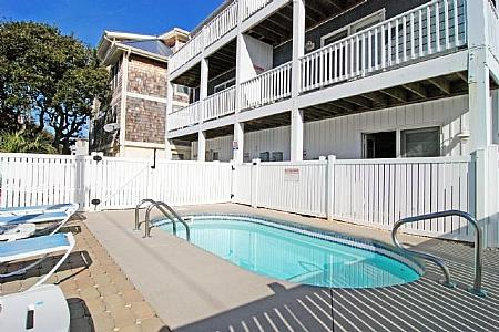 PRIVATE POOL - Summerwinds- Beautiful 5 Bedroom with Pool! - Kure Beach - rentals