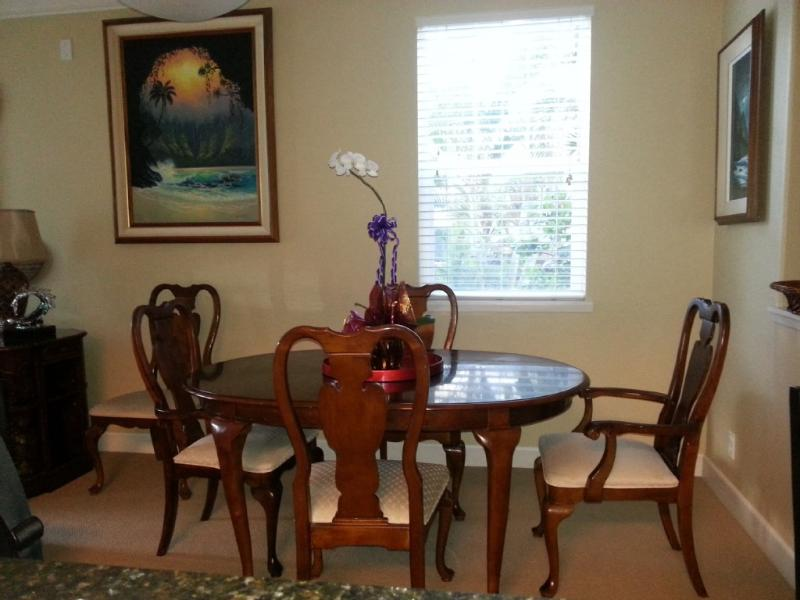 Have a meal and enjoy the indoors. - KoOlina Kai 2BR/2BA Condo Stunning monthly rental - Ko Olina Beach - rentals