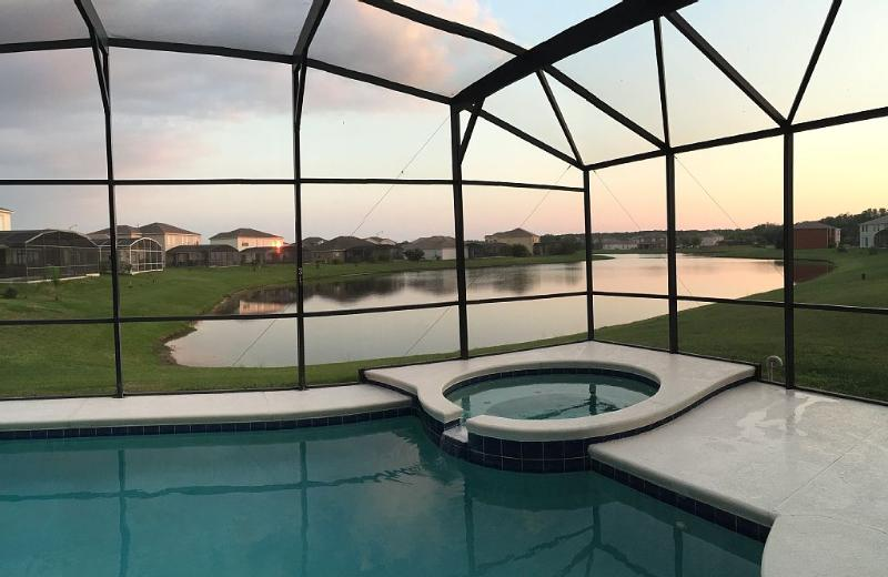 Executive Large Modern 7 Bed House with Pvt. Pool - Image 1 - Kissimmee - rentals