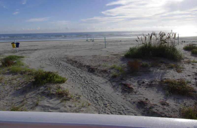 Beautiful walk way from Condo to the white sand beach and Atlantic Ocean. - Oceanfront and Beachfront Getaway!! - New Smyrna Beach - rentals