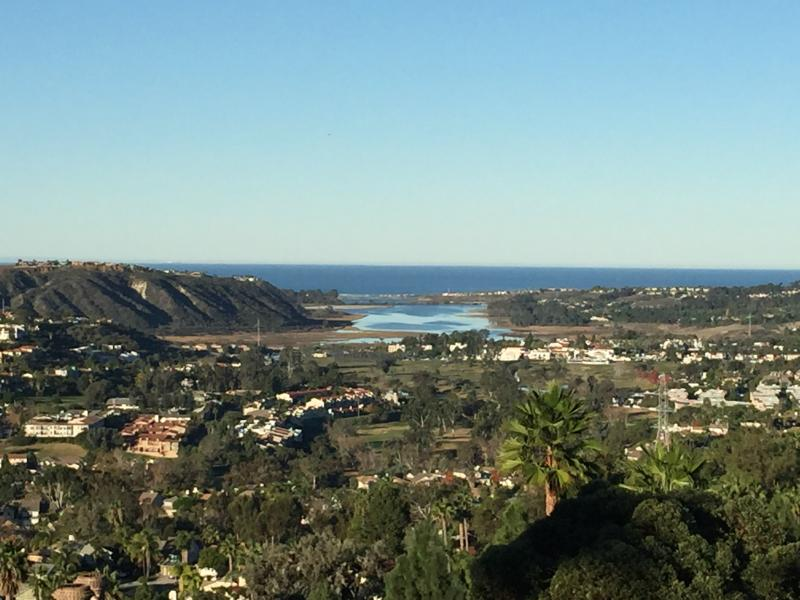View of ocean and La Costa valley from patio - Breathtaking Panoramic Ocean Views Family Friendly - Carlsbad - rentals