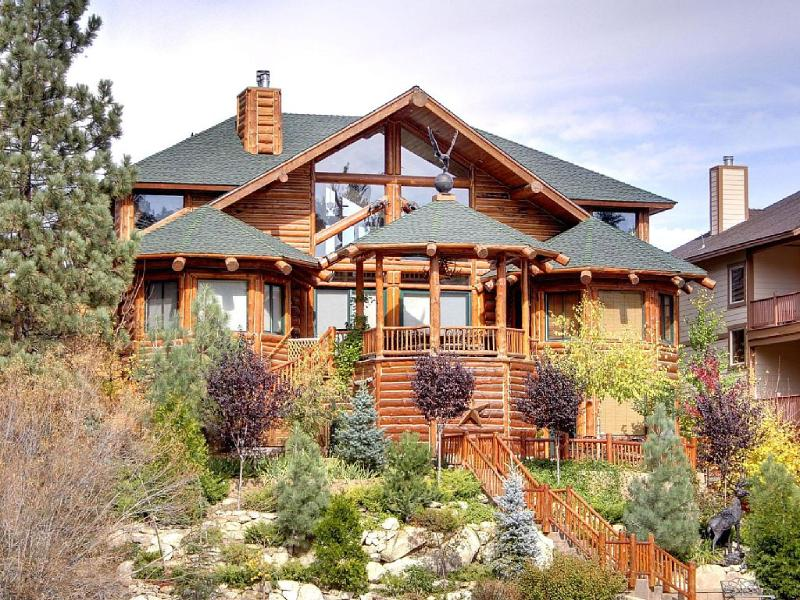 Surrounded by Water sits on a peninsula on Boulder Bay - Surrounded by Water - an Impeccable, Lakefront - Big Bear Lake - rentals