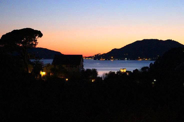 Villa Emilia, Spectacular view from Master bedroom - Villa Emilia - Ligurian style villa by the sea - San Terenzo - rentals