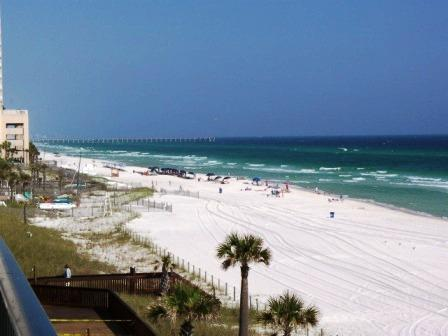 Seen From Balcony - Beach Front Luxtury at Seachase Condos, free chairs - Panama City Beach - rentals