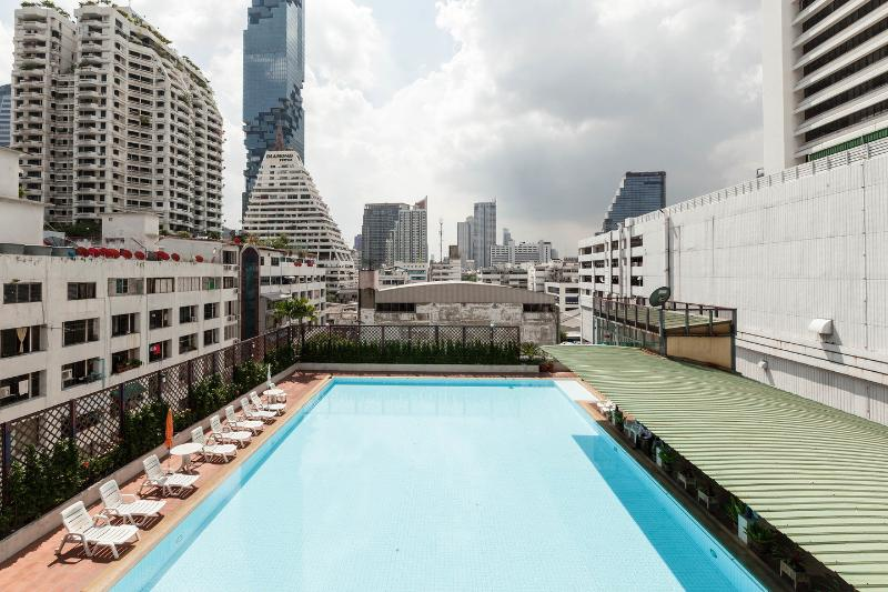 The Pool - Stay in downtown w cosy & relax atmosphere,SilomRd - Bangkok - rentals