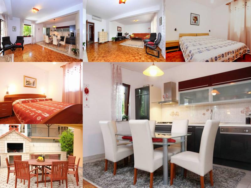 Family- friendly apartment EMMA 1 (4+2 ) - Image 1 - Orebic - rentals