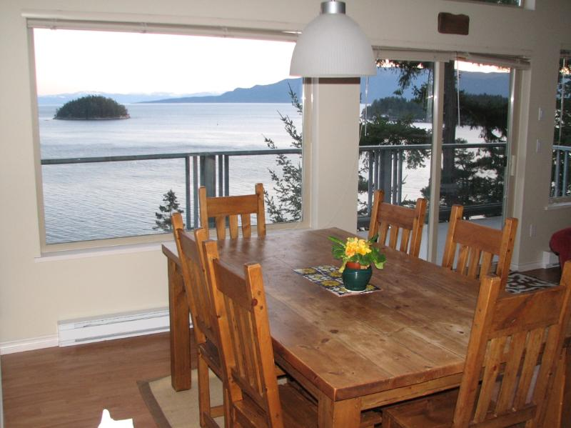 Amazing views from every room in the house - Spectacular modern oceanfront home - Garden Bay - rentals