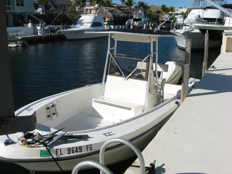 Center Console Boat - Waterfront Cottage with boat - Key Largo - rentals