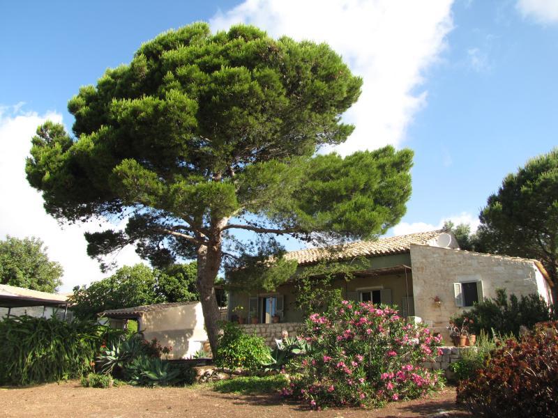 View - Countryside Villa with sea view - Sampieri - rentals