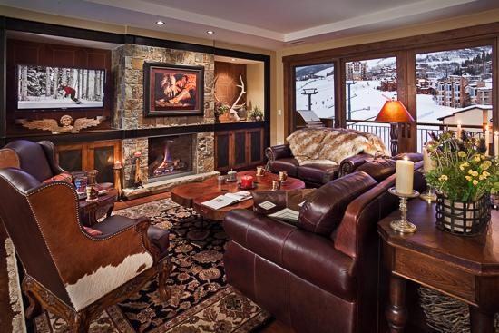 Spacious living room - One Steamboat Place - Wild Card Peak Residence (4BR Condo) - Steamboat Springs - rentals