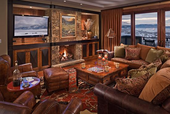 Inviting living room - Ski In/Ski Out - Sleeps 14! - Panorama Peak - 4BR - Steamboat Springs - rentals