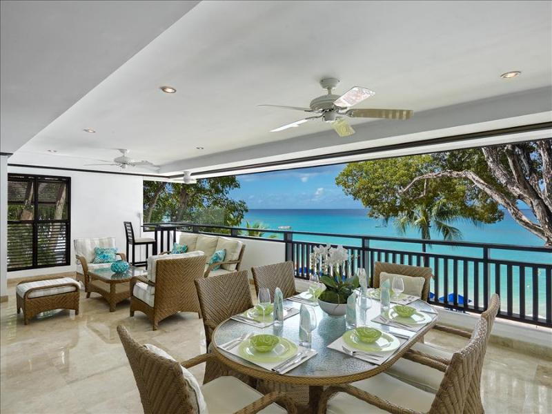 Coral Cove 7 - Sunset at Payne's Bay, Barbados - Beachfront, Use Of Beach Chairs At Coral Cove - Image 1 - Paynes Bay - rentals