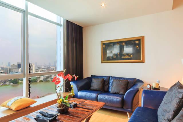 Dasiri Beautiful River view Apartment near BTS - Image 1 - Bangkok - rentals