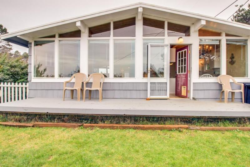 Dog-friendly oceanview home, walk to the beach, restaurants, and shops! - Image 1 - Seal Rock - rentals
