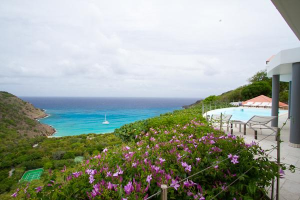 Private hillside villa overlooking Gouverneur Beach & the ocean WV BRE - Image 1 - Gouverneur - rentals
