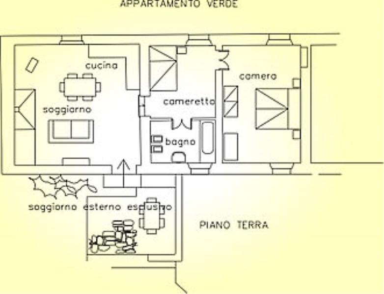 Casa Colorita C - Image 1 - Casole D'elsa - rentals