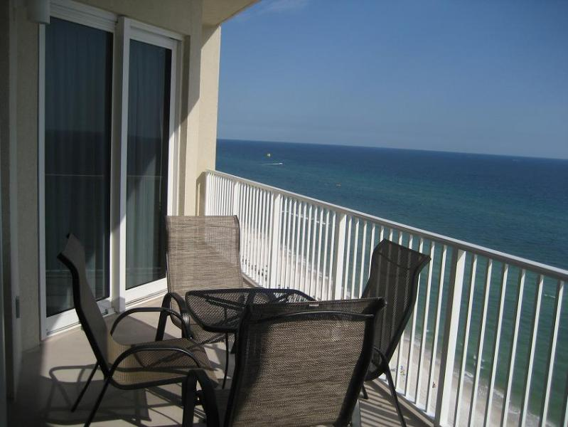 balcony - Grand View East Luxurious, Ocean Front Condo! - Panama City Beach - rentals