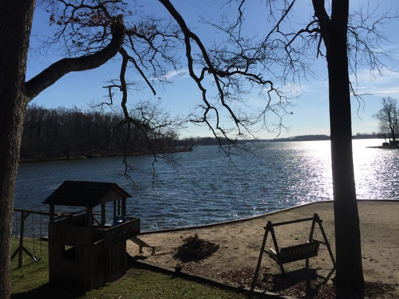 Top of Hill View, that's all yours! - MI Lakehouse Rental-Includes Pontoon-7 Chain Lakes - Coldwater - rentals