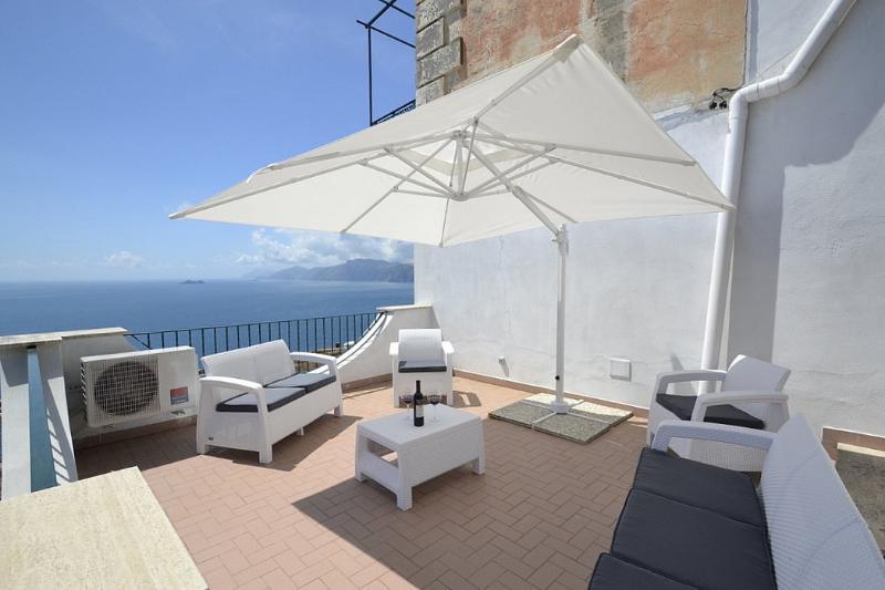 Villa Grecale - Image 1 - Praiano - rentals