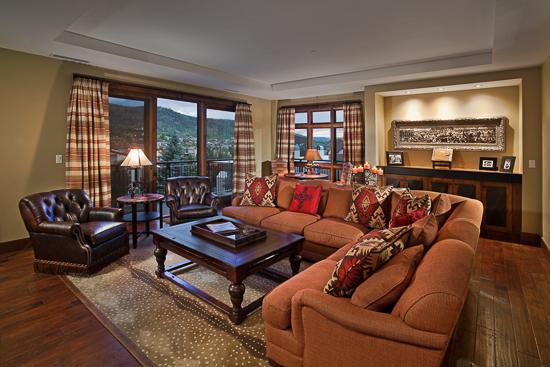 "Main floor living room - ""Great Powder"" Specials : Save up to 25% at One Steamboat Place - Sneak Peak - Steamboat Springs - rentals"