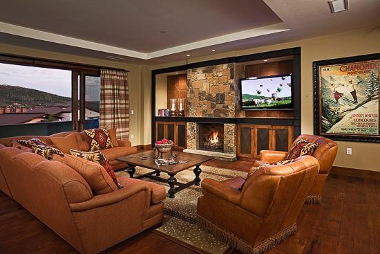 Spacious living room - Slopeside!  One Steamboat Place - Trickle Creek - Steamboat Springs - rentals