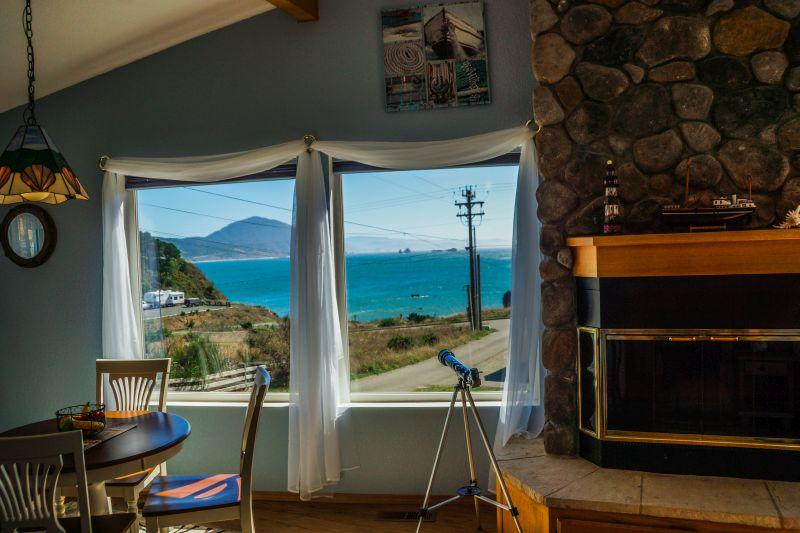 View - Admiral's Landing - Port Orford - rentals