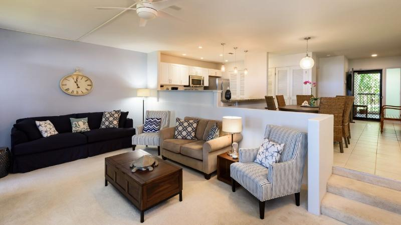 Living Area - NEW LISTING!  2-bd at The Kaanapali Royal - Kaanapali - rentals