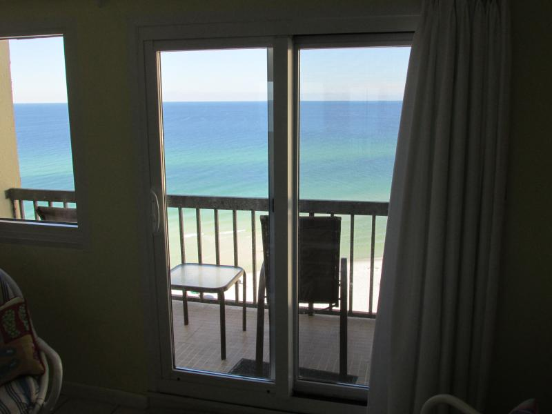 Right on the beach, close enough to see the dolphins swimming by - West Panama City Beach / 30A Condo On the Beach - Panama City Beach - rentals