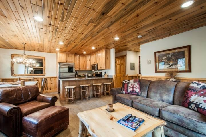 As you enter the unit, you will notice the open concept living area, a formal dining room and fully-stocked gourmet kitchen. - Timber Wolf 2 Bedroom at Canyons - Park City - rentals