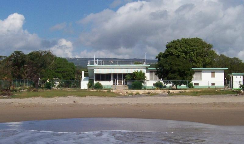 View of villa from beach - Pelican's Reach - Treasure Beach - rentals