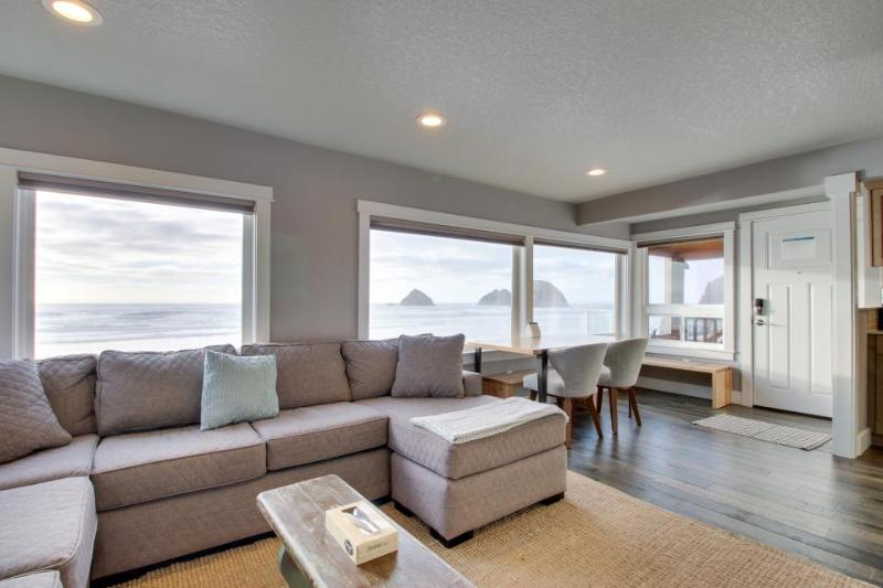Renovated, spacious, dog-friendly oceanfront condo w/ sprawling views! - Image 1 - Oceanside - rentals