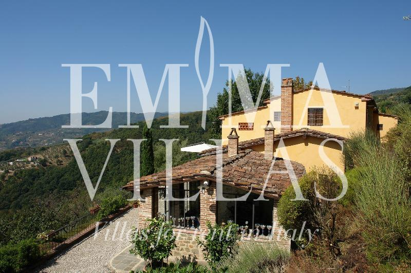 Private 4 Bedroom Tuscan Villa in Lucca at Giornolungo - Image 1 - Lucca - rentals