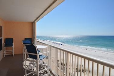 Balcony Islander Beach 6009 Fort Walton Beach Okaloosa Island Vacation Rentals - Islander Beach Resort, Unit 6009 - Fort Walton Beach - rentals