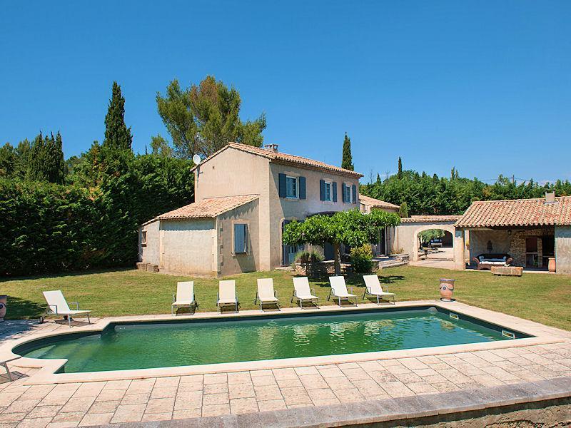 St-Rémy-de-Provence,beautiful landhouse 8p. private pool - Image 1 - Saint-Remy-de-Provence - rentals