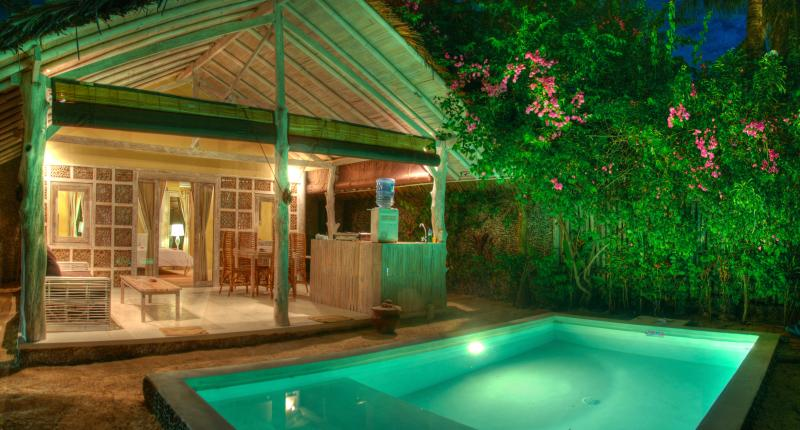 Pool - Les Villas Ottalia Gili Meno - 1 Bedroom Deluxe - Gili Meno - rentals