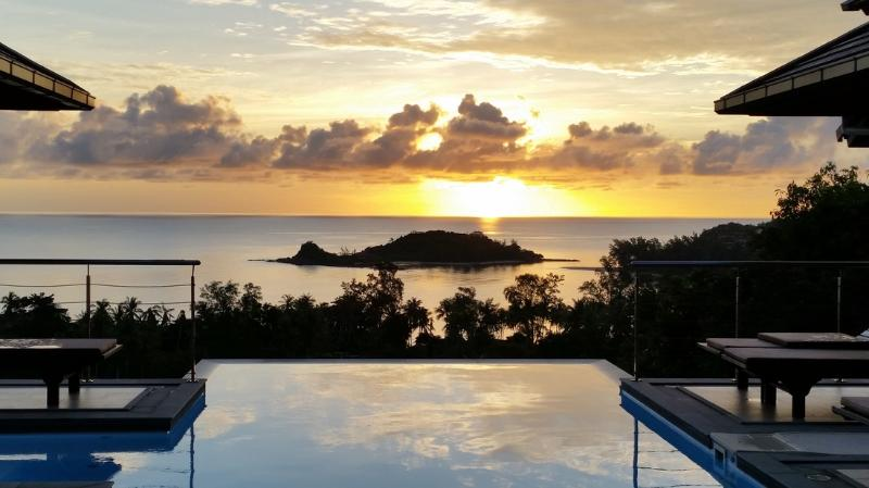 Villa Ocean View - 5 Bedroom Pool Villa with Stunning View in Choeng Mon - Image 1 - Choeng Mon - rentals